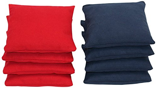 ACA Regulation Cornhole Bagsn (Set of 8) (Navy and Red)