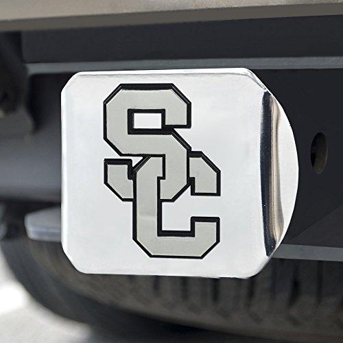 FANMATS NCAA Univ of Southern California Trojans Chrome Hitch Cover