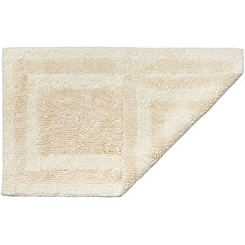 Amazon.com: Cotton Craft Reversible Step Out Bath Mat Rug ...
