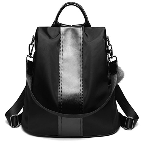 59ffcec1c99a LoZoDo Women Backpack Purse Waterproof Nylon Anti-theft Rucksack  Lightweight Shoulder School Bags  Amazon.com.au  Fashion