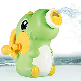 CARPLSU Bath Toys Bathtub Dinosaur Toy with Switchable Water Outlet Modes Tub Spray Sprinkler Pool Summer Game Funny Birthday Gift for Toddlers Kids Baby Boys Girls 18 Months 2 3 4 5 6 7 8Years Old