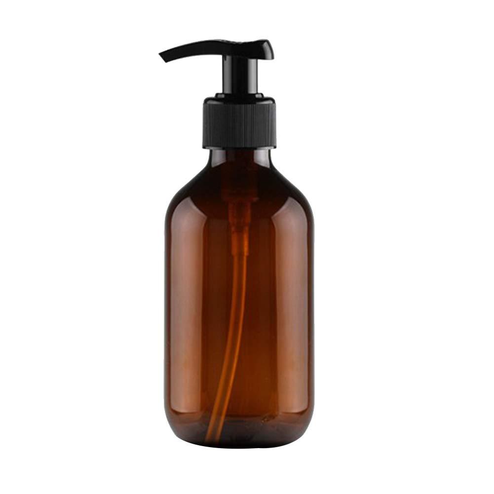 Qinlee Squeeze Emulsionsflasche Handlotion Duschgel Toner Shampoo Spender Flasche Perfekt für Home Reisen -300ml