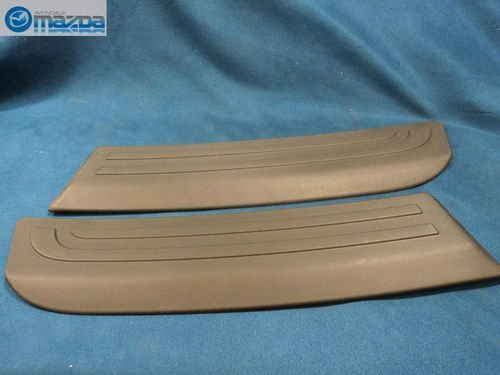 MAZDA 3 & MAZDASPEED3 2004-2009 HATCHBACK NEW OEM REAR BUMPER GUARDS