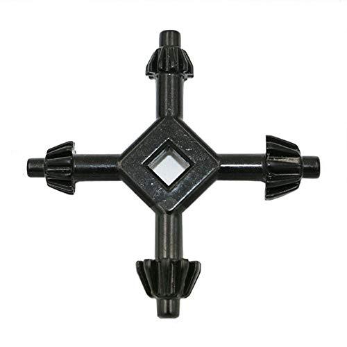 Multi Universal 4 Way 5.2-6mm Drill Chuck Key Power Drill Bits Wrench Drills 3/8