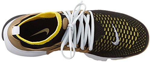 Nike Air Presto Flyknit Ultra - Zapatillas de deporte Hombre Negro (Blk / Yllw Strk-Mtllc Gld-Ntrl G)