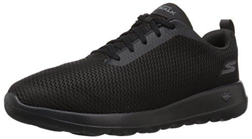 Skechers Mens Go Walk Max-54601 Ampia Sneaker Nera