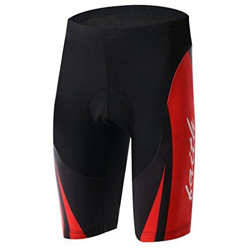 Summer Fashion TeyxoCo Men Red Dragon Cycling Padded Shorts XXXL