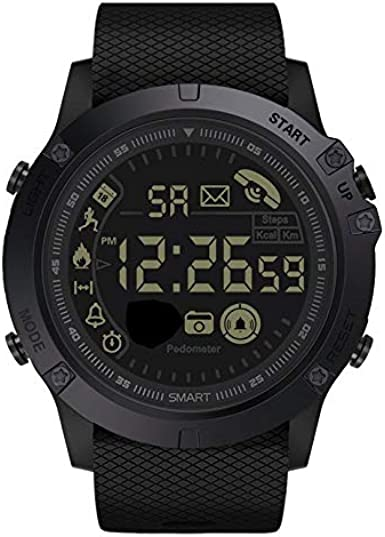 Electronic Mens Watches Luxury Sport Outdoor Waterproof Smart Watch LED Display Casual Men Wristwatches