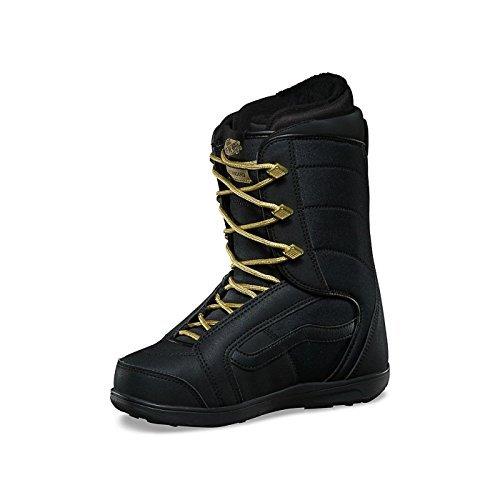 (Vans Hi-Standard Women's Snowboard Boots 2018, Black/Gold (7))