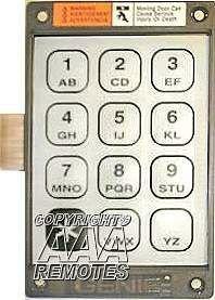 GENIE Garage Door Openers 20235R Keypad Only for KEP-1