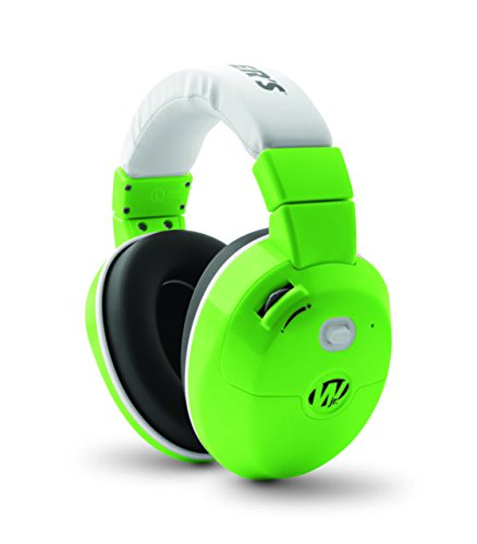 Walker's Game Ear Youth Electronic Muff, Green by Walker's Game Ear (Image #1)