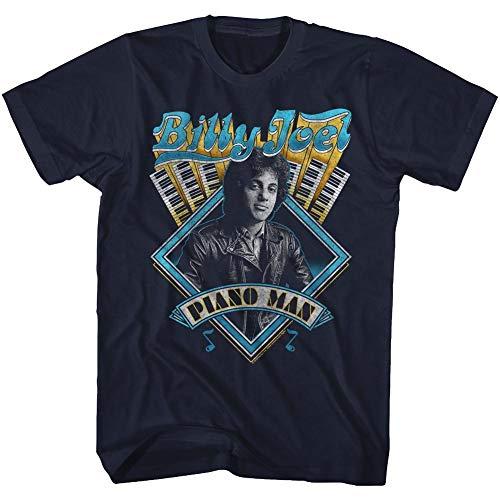 (American Classics Billy Joel T Shirt Billy Joel Adult Short Sleeve XXL)