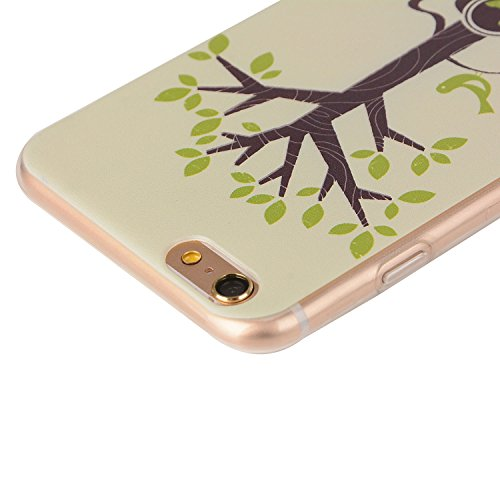 Für Apple iPhone 6 / iPhone 6S (4.7 Zoll) Hülle ZeWoo® TPU Schutzhülle Silikon Tasche Case Cover - YG002/ Guita Baum