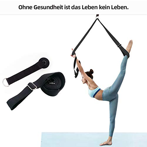 Vandeep Yoga-Gurt Beinstrecker Stretch-Band: Stretching Equipment für Yoga, Ballett & Gymnastik Training