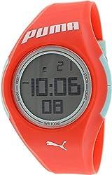 Puma Men's PU911191001 Coral Rubber Quartz Watch