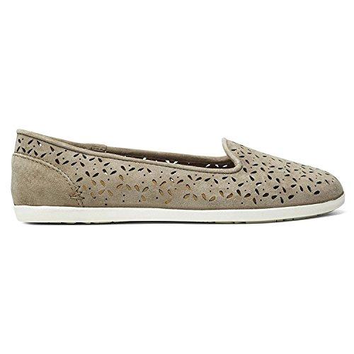 OLUKAI Momi - Womens Slip-on Shoes Clay/Clay - 7 ()