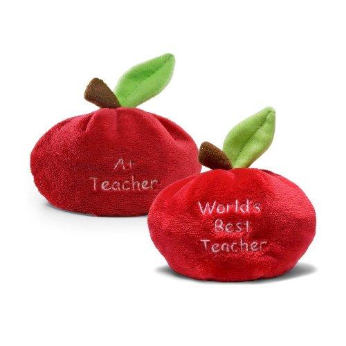 Apple Beanbag World's Best Teacher