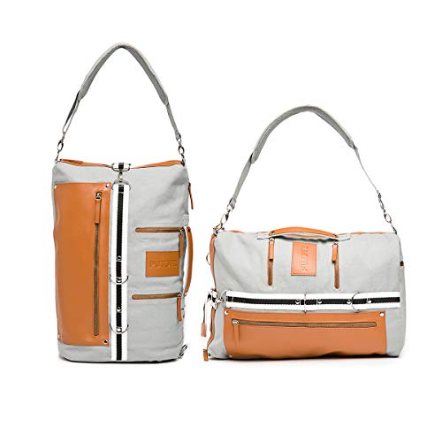 Travel Laptop Canvas Backpack for College Women