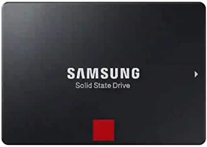 SAMSUNG 860 PRO SSD 512GB - 2.5 Inch SATA III Internal Solid State Drive with MLC V-NAND Technology (MZ-76P512BW)