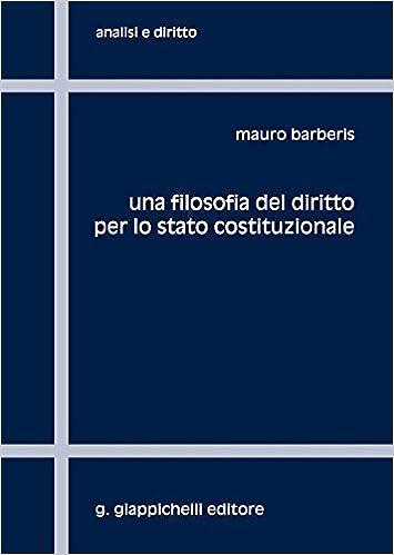 Amazon Diritto Del Lo Filosofia Per Costituzionale Stato itUna 3TKclJF1