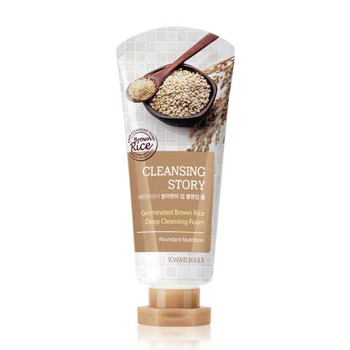 **New** Cleansing Story Natural Facial Deep Cleansing Foam - Brown Rice