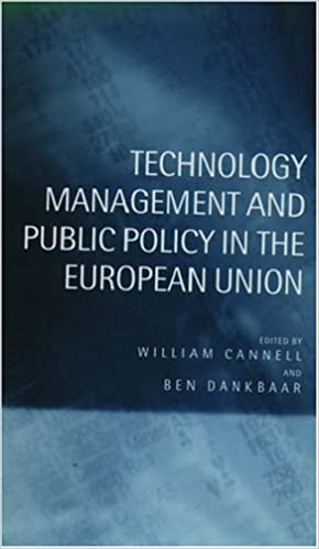 Book Technology Management and Public Policy in the European Union