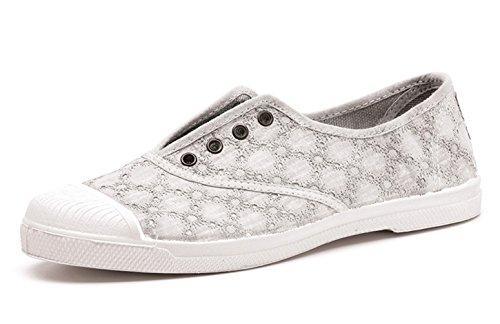 Natural World Eco 120 vegane Getöne Schuhe Chucks Retro Canvas Schnürschuhe Pumps Sportliche Turnschuhe für Damen Umweltfreundlich
