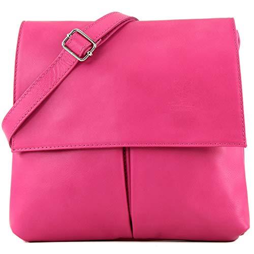 shoulder Pink T63 Italian real women's satchel bag bag leather bag messenger p5wx75US