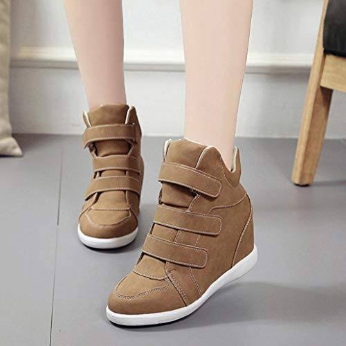 Gyoume Winter Ankle Boots Women Lace up Boots Shoes Girls School Footwear Platform Boots Shoes by Gyoume