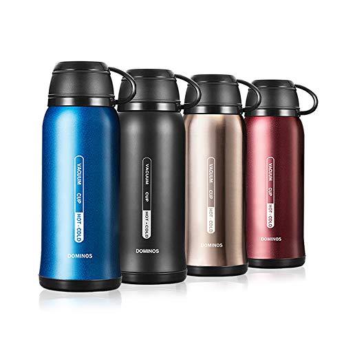 Y·J&H Termo de Vacio de Doble Pared,Botella de Agua Acero Inoxidable sin BPA,Botellas Frio/Caliente,Botellas Termica para Ninos, Colegio, Oficina, Trekking - 650ml Azul