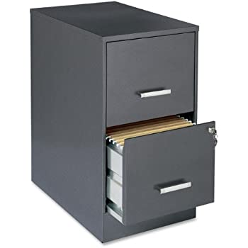 Charmant Lorell 16871 2 Drawer File Cabinet, 22 Inch