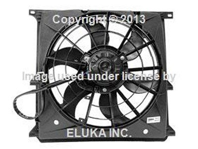 Amazon Com Bmw Genuine Cooling Fan Assembly With Shroud For 318i