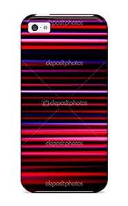 Case Cover Futuristic Stripe / Fashionable Case For Iphone 5c
