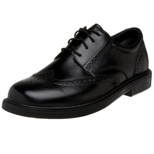 Nunn Bush Mens Eagan Wing-tip Oxford Nero