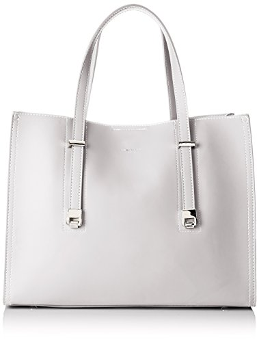 David Jones Women's Cm3755 Bag Beige (Creamy Grey Cm3755)