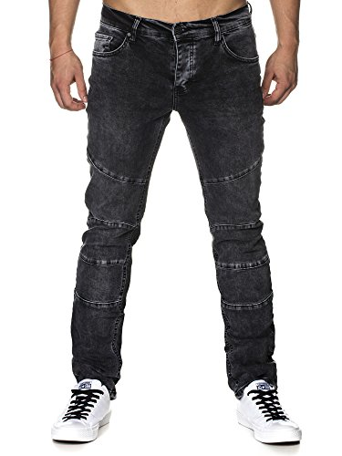 Attillata Nero Jeans Tazzio Uomo Tazzio Jeans 074T6v7