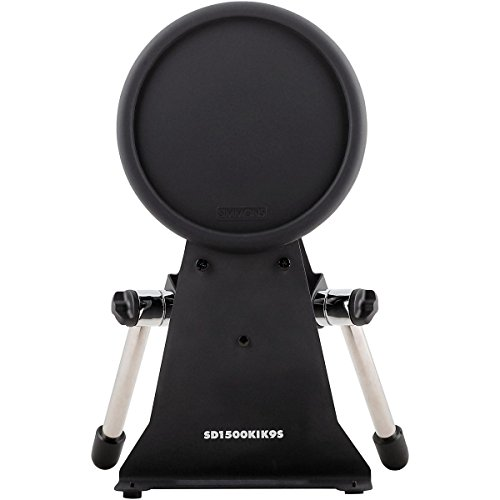 Simmons S1500 Pro Kick Pad and Stand with Chrome (Kick Drum Trigger Pad)