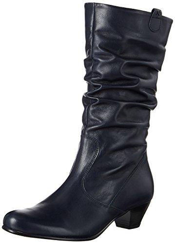 Gabor Basic Comfort Blau River Black 66 Women's Boots Micro HrzqwHg