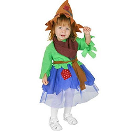 Girl's Infant Scarecrow Costume (Size:6-12 Months)