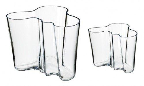 Aalto Clear Vase (iittala Aalto Clear Vase Gift Set)