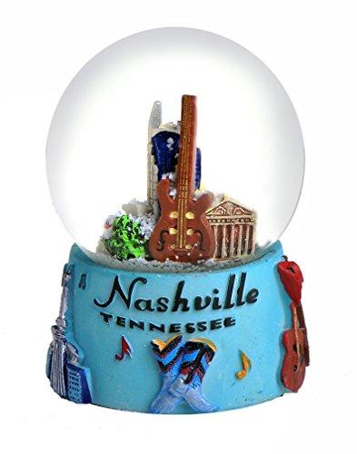 Nashville in Color 65mm Snow Globe