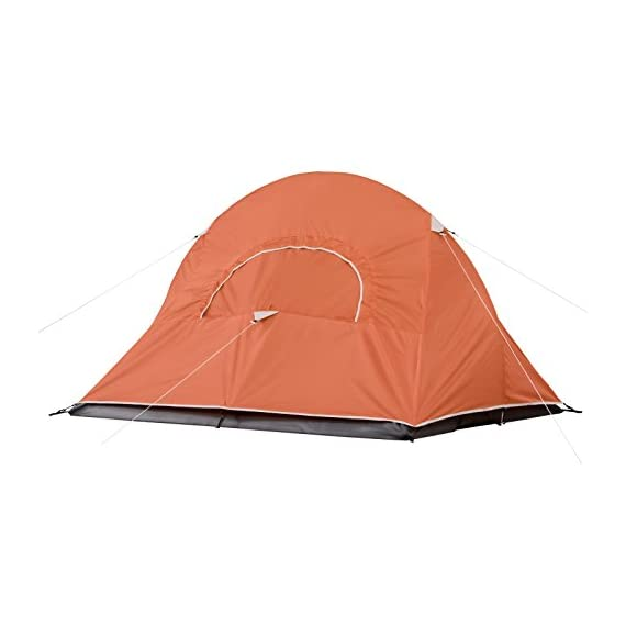 Coleman Hooligan Backpacking Tent 2 Sleeps 2 Main fly seams are factory taped Heavy duty 1000D polyethylene bathtub floor for extra durability and welded leak proof seams