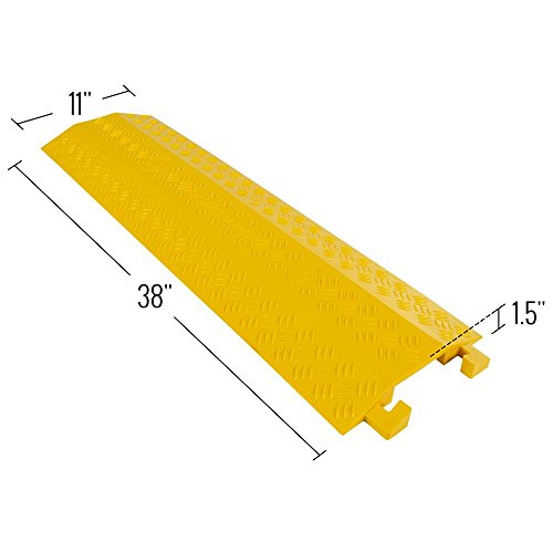 Guardian Industrial Products Rage Powersports DH-CR4-V2 High Traffic Pedestrian/Light Equipment Drop-Over Cable Cover Ramp by Guardian Industrial Products (Image #2)