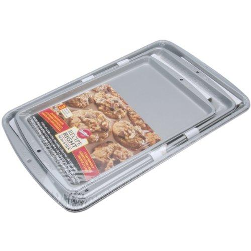 Wilton Recipe Right 3 Piece Cookie Pan Set