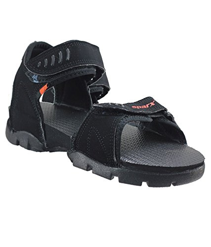 39795a6ae84 Sparx Boy s Black Sandals (SS-101) (2 UK)  Buy Online at Low Prices ...