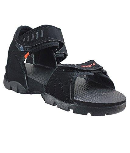 315d734d6 Sparx Boy s Black Sandals (SS-101) (2 UK)  Buy Online at Low Prices ...