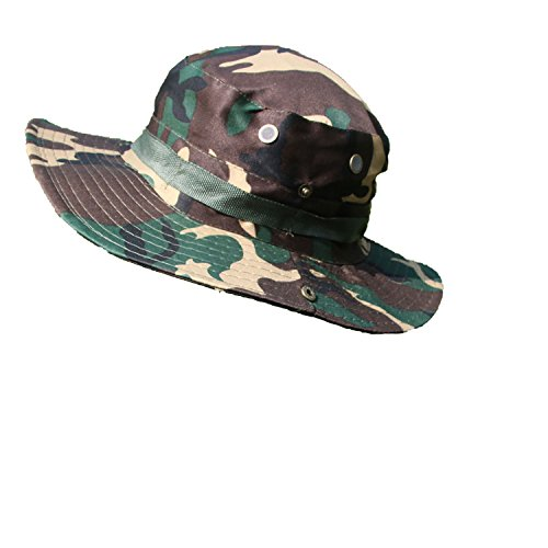 Men's Camouflage Sun Hats Fishermen's Hat Women's Foldable Caps Hike Quick-Drying,Army Camouflage