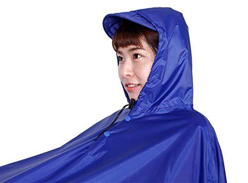 Style Et Extérieure Femme Simple Imperméable Raincoat Adulte Poncho Vélo 1 Uxwq458