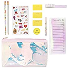 Ban.do Women's Ultimate Planner Pack, Pearlescent, Set of 10 items