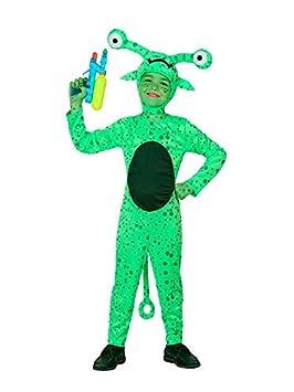 DISBACANAL Disfraz de Alien Infantil - Único, 7-9 años: Amazon.es ...